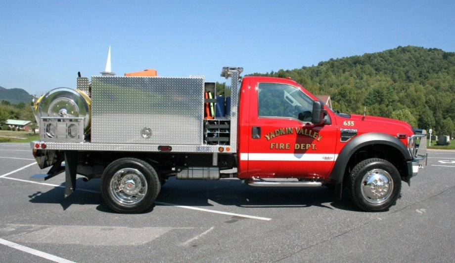 Brush Truck Yadkin Valley Fire Department Anchor Richey Evs